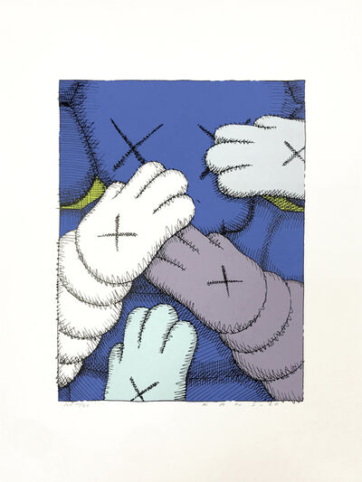 KAWS, 'PRINT 6 FROM URGE PORTFOLIO', 2020