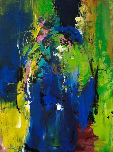 Jean-Pierre Lafrance, 'Visage blue', 2010