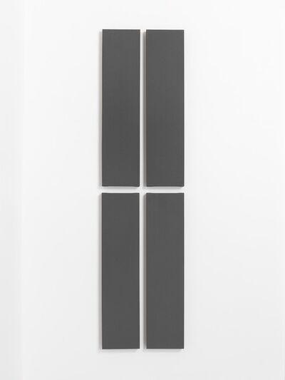 Alan Charlton, '4 vertical parts', 1997