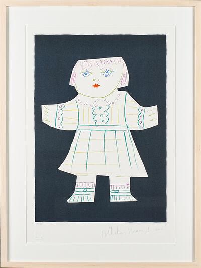 """Pablo Picasso, 'Two Artworks: Une Poupee Decoupee; Femme à la Mandoline""""'"""