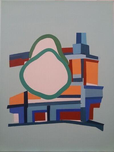Vasilena Gankovska, 'Colouring the Structure II', 2016