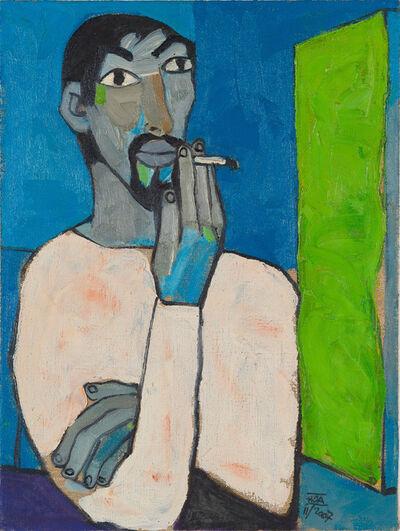 Dang Xuan Hoa, 'Self Portrait (Smoking)', 2007