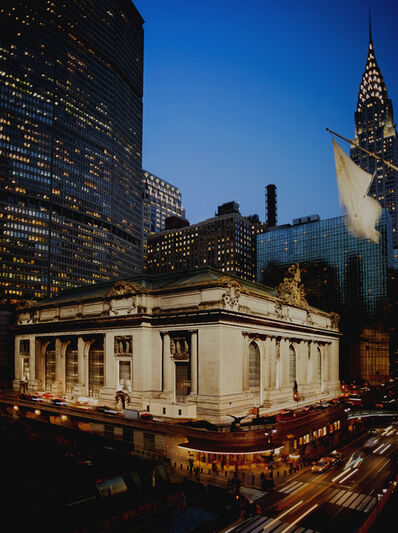 Lynn Saville, 'Grand Central from Madison Avenue'