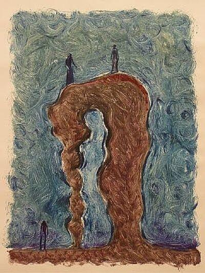Gronk, 'Conversation', 2010