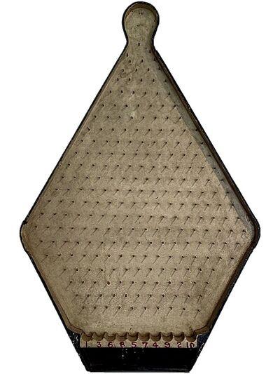 Unknown Artist, 'Plinko Precursor Game Board', First quarter of the 20th century