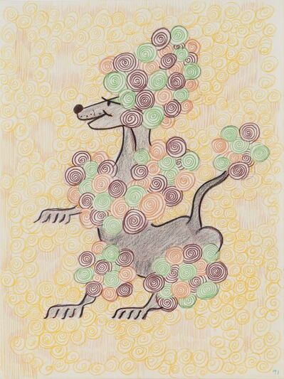 General Idea, 'Untitled (Poodle) [Drawing #268]', 1991