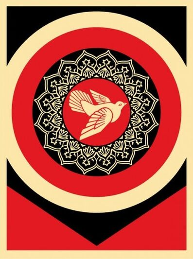 Shepard Fairey, 'Peace Dove Black', 2011