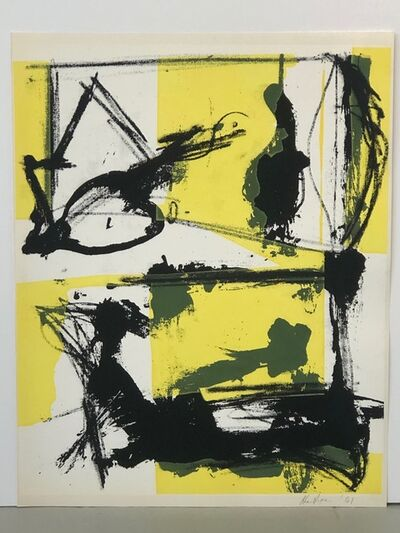Grace Hartigan, 'Untitled from Salute', 1961