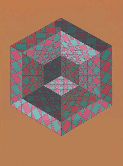 Victor Vasarely, 'Sancton', 1970-1980