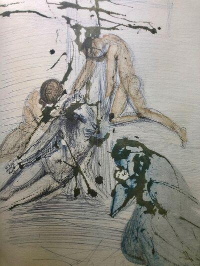 Salvador Dalí, 'The Taking Down From The Cross, 'De Cruce Depositio', Biblia Sacra ', 1967