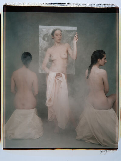 Joyce Tenneson, 'Three Women and Plexi', 1992
