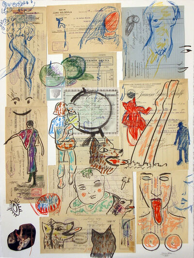 Carmen Calvo, 'Lo que se ve en un objeto', 2010