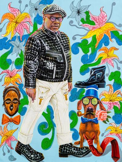 JP Mika, 'Papa Wemba, sapeur modèle de génération en génération', 2016