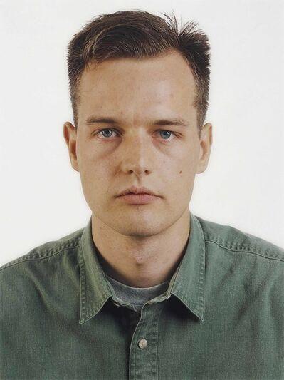 Thomas Ruff, 'Portrait (E. Zapp)', 1990