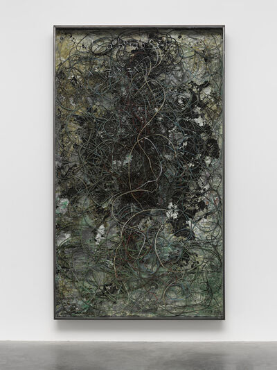 Anselm Kiefer, 'Superstrings, Runes, The Norns, Gordian Knot', 2019