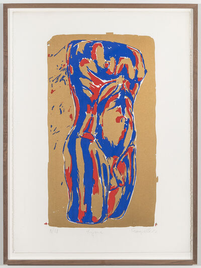 Luis Frangella, 'Figura', 1982