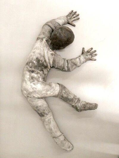 Jose Cobo, 'Child crawling turning up-down', 2015