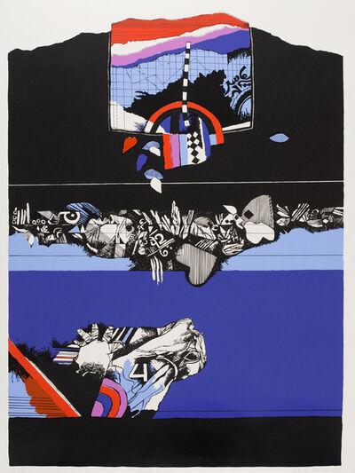 Dia Azzawi, 'Oriental Scene', 1978
