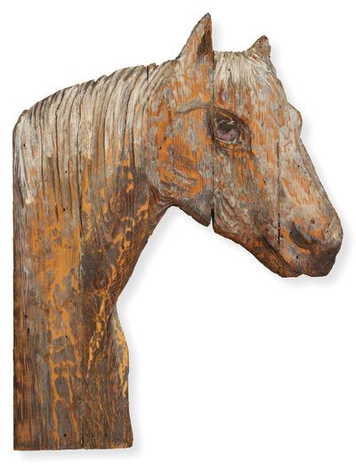 Bernard Langlais, 'Horse', 1976-1977