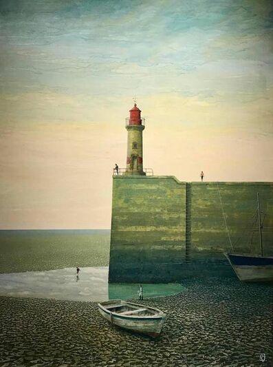 Philippe Charles Jacquet, 'Au bout du quai'