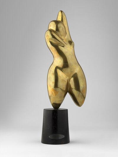 Man Ray, 'Figure. Herma. Métal Doré. Gilded Metal', 1919-1973
