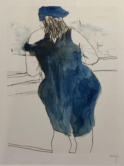 Bob Dylan, 'Woman in Red Lion Pub - Drawn Blank Series ', 2014
