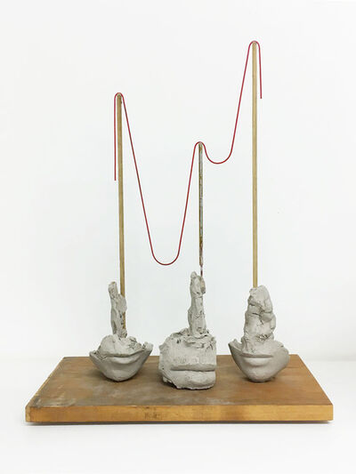 Mark Manders, 'Still Life With Thin Red Rope', 2015