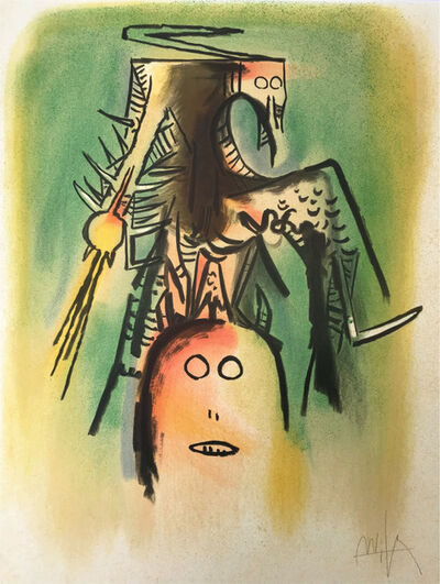Wifredo Lam, 'Personnages', 1974