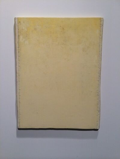 Lawrence Carroll, 'Untitled (Yellow Painting)', 2012-2015