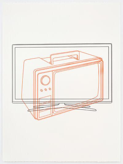 Michael Craig-Martin, 'Television / Television', 2017
