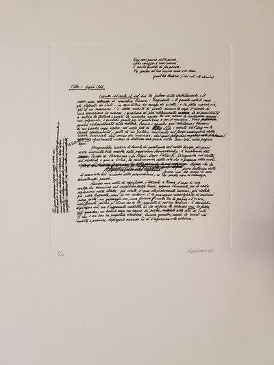Renzo Vespignani, 'Prefazione dell'Autore', 1962