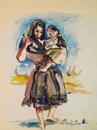 Katherine Librowicz, 'Mother & Child', 20th Century