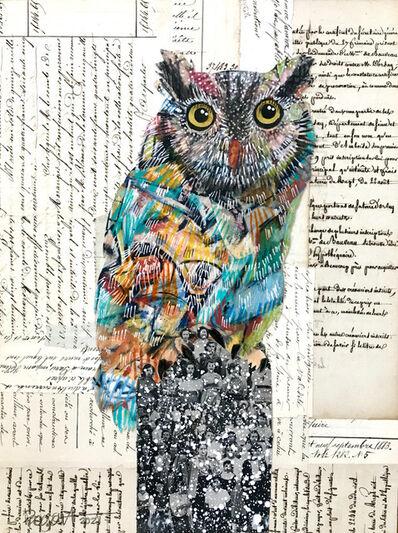 Brenda Bogart, 'Screech Owl #8', 2021