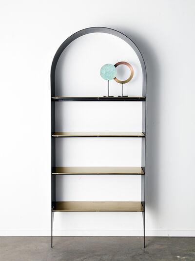 Kin & Company, 'Thin Bookshelf II (Single)', 2019
