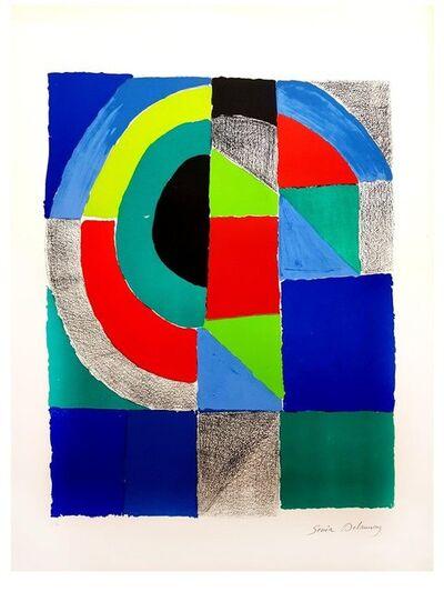 Sonia Delaunay, 'Sonia Delaunay - Composition - Original Handsigned Lithograph', ca. 1960