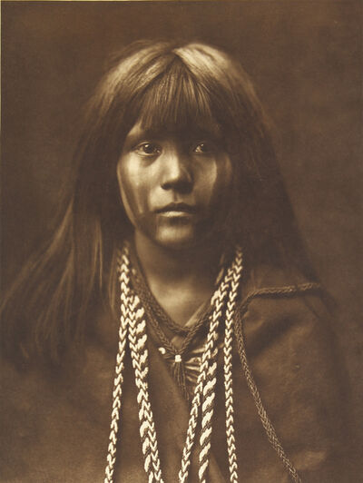 Edward Sheriff Curtis, 'Mosa - Mohave', 1907-1930