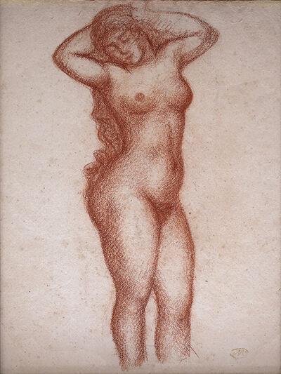 Aristide Maillol, 'Femme nue debout de face', ca. 1920
