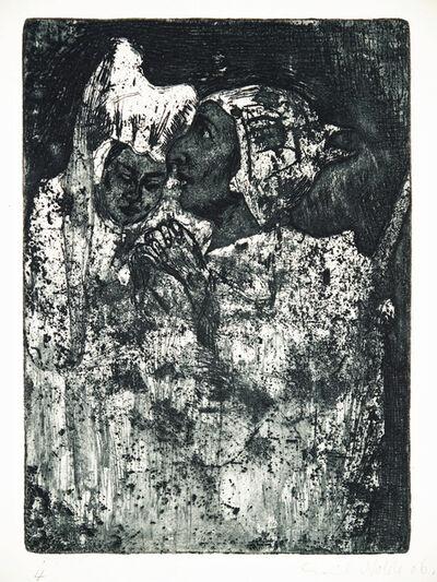 Emil Nolde, 'Abschied (Farewell)', 1906
