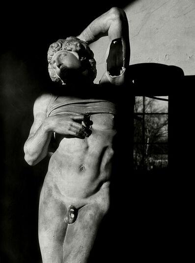 Herbert List, 'Plastercast of Michelangelos Slave in the Academy of Arts', 1945