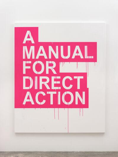 Gardar Eide Einarsson, 'A Manual for Direct Action (pink)', 2019