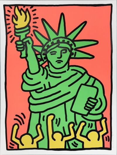 Keith Haring, 'Statue of Liberty', 1986