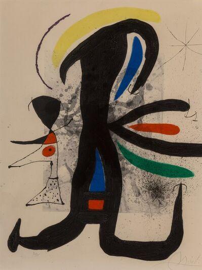 Joan Miró, 'Une telle et son petite mari', 1970