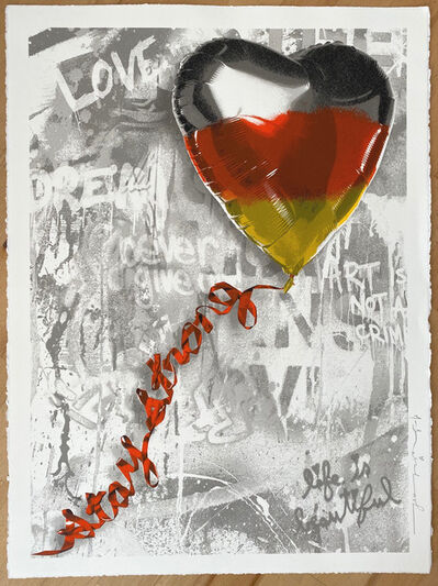 Mr. Brainwash, 'We love Germany | Stay Strong', 2020