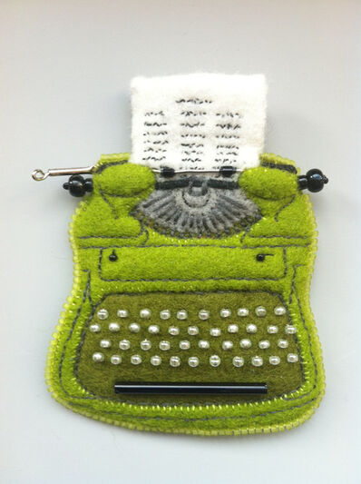 Ann Cofta, 'Vintage Typewriter (Royal Portable in Key Lime)', 2017