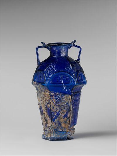 Unknown Roman, 'Glass hexagonal amphoriskos', 1st half of 1st century A.D.
