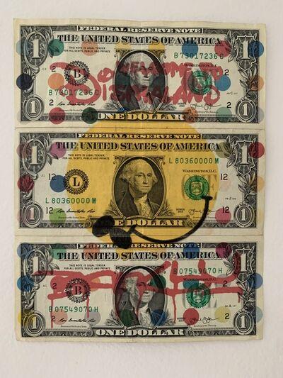 "Banksy, 'BANKSY ""DISMALAND"" US DOLLARS, REAL CURRENCY', 2015"