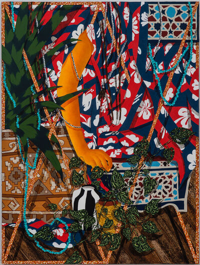 Amir H. Fallah, 'Entangled in the tropics', 2016