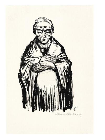 Käthe Kollwitz, 'Schwangere Frau', 1921