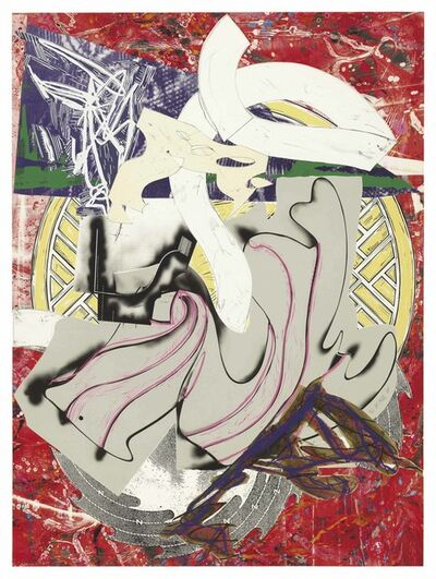 Frank Stella, 'Ahab, from The Waves', 1985-88