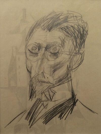 Otto Dix, 'Männliches Bildnis', 1922